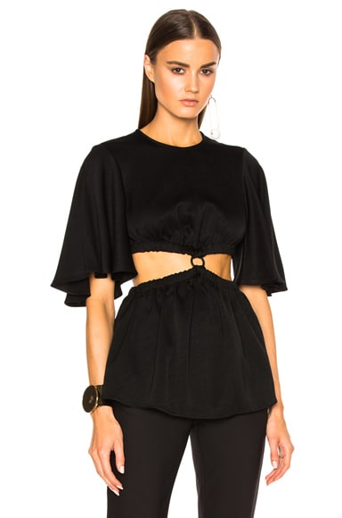 Ellery Apocalyptic Top in Black