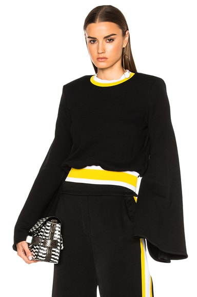 Ellery Immortal Top in Black & Yellow