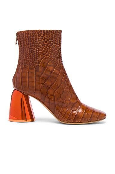 Croc Embossed Jezebels Boots