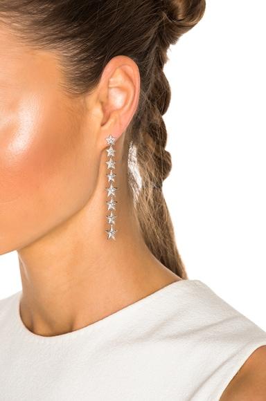 Falling Star Single Earring
