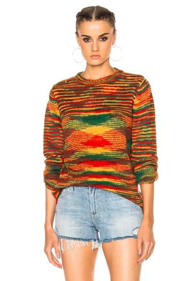 for FWRD Dipped Picasso Sweater