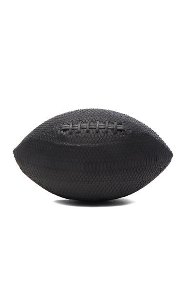 Elisabeth Weinstock America Football in Black
