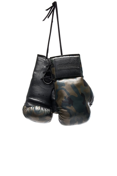 Elisabeth Weinstock Manila Boxing Glove in Green Camo
