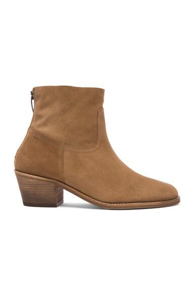 elysewalker los angeles Lauren Sport Suede Boots in Sigaro