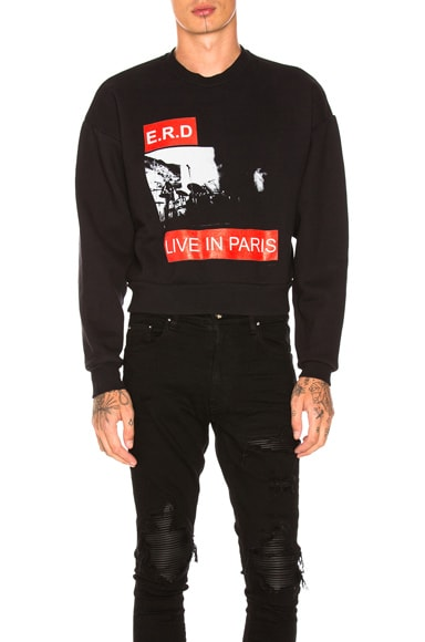 Live in Paris Sweatshirt