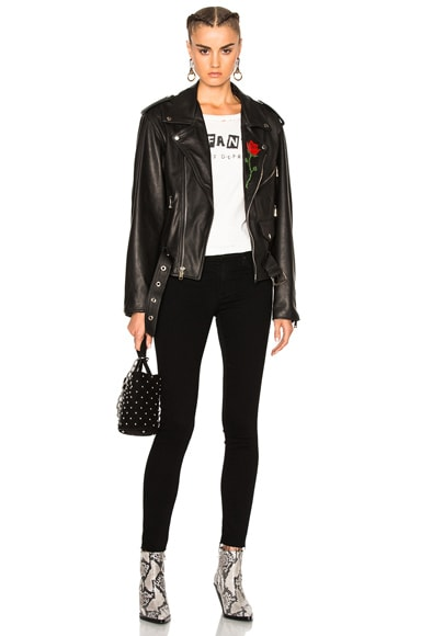 NY Dolls Leather Jacket