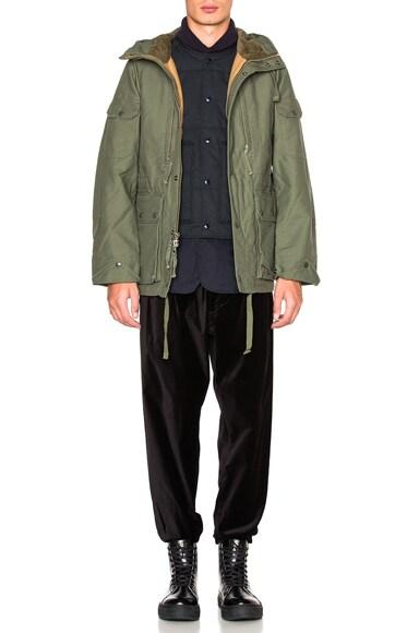 Double Cloth Field Jacket