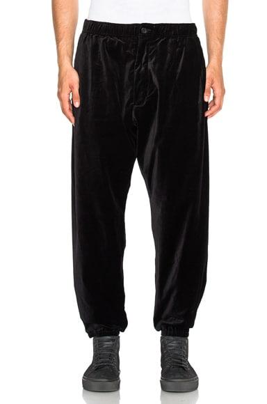 Engineered Garments Velveteen Ballon Pants in Black