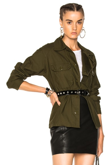 Reversed Sateen Field Shirt