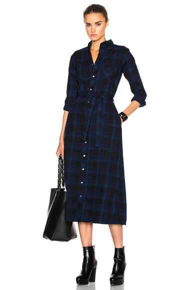 Plaid Flannel BD Shirt Dress