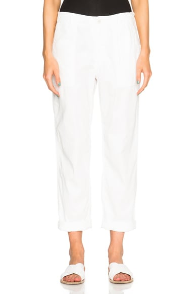 Engineered Garments Fatigue Pants in White Twill