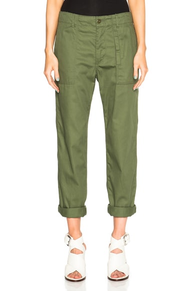 Engineered Garments Fatigue Pants in Olive Twill