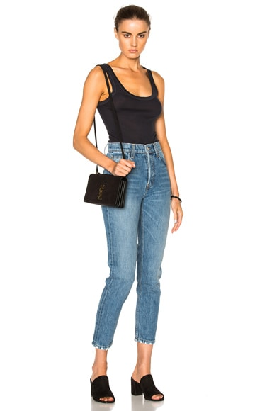 Rib Fitted Bold Tank Top
