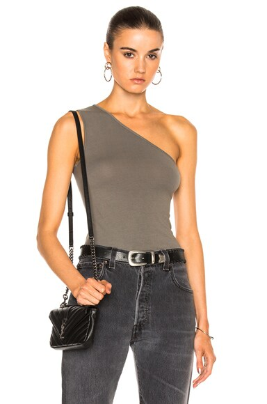 One Shoulder Tank Top