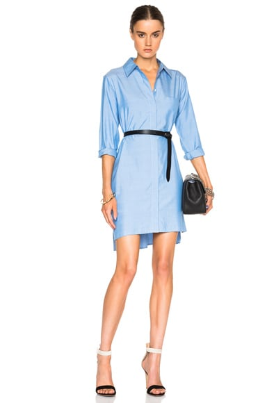 Equipment Kerry Dress in Blue