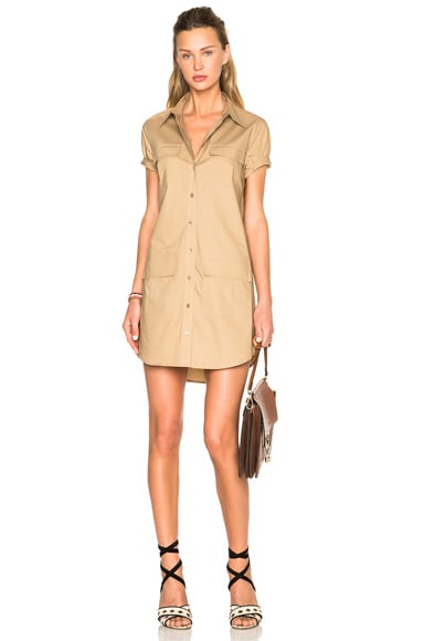 Equipment Remy Utility Dress in Kelp