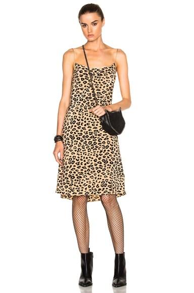 Equipment x Kate Moss Jessa Bias Slip Dress in Natural