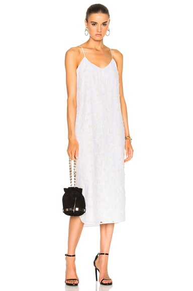 Equipment Dian Dress in Bright White