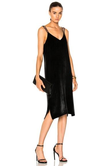 Nia Velvet Slip Dress
