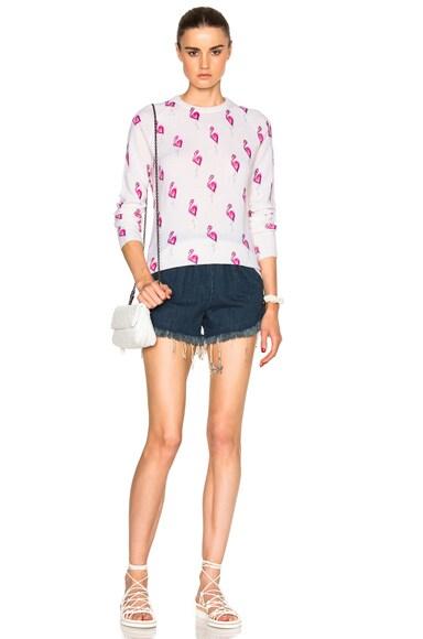 Sloane Flamingos Sweater