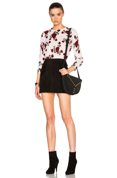 Floral Sloane Crew Sweater