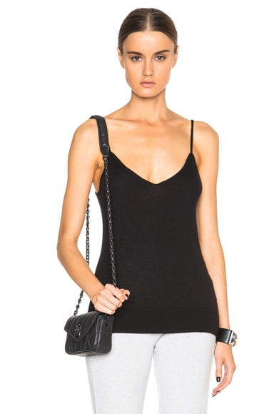 Equipment Cashmere Layla Knit Top in Black