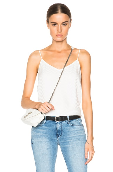 Equipment Layla Cami Top in Bright White