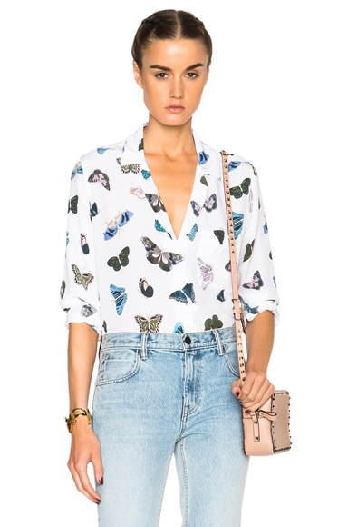 Equipment Keira Butterfly District Top in Bright White