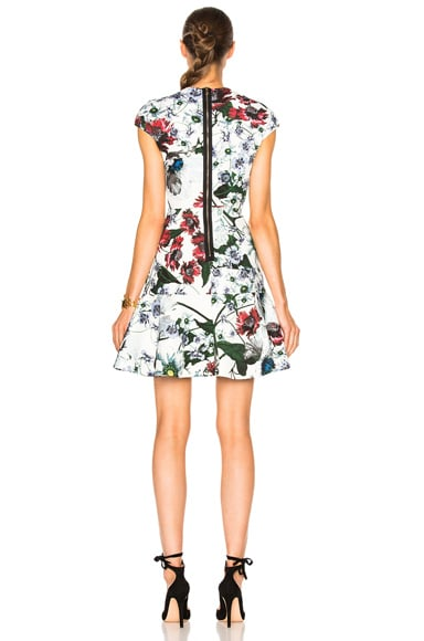 Darlina Yuki Garden Neoprene Jersey Dress
