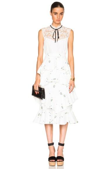 Ellen Ditsy Floral Skirt