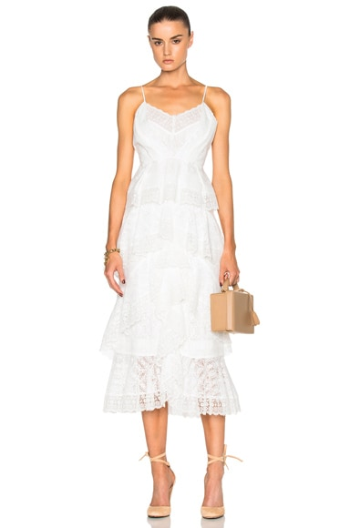 Simone Crochet Lace Skirt