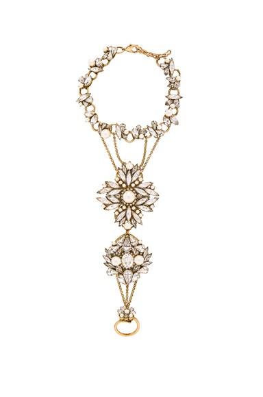Erickson Beamon FWRD Exclusive Handpiece in Crystal & Pearl