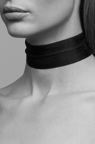 Silk Neck Scarf Choker