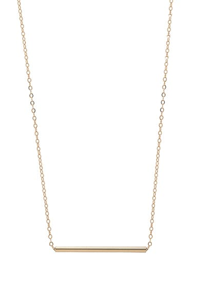 ERTH 14K Gold Bar Choker in Gold