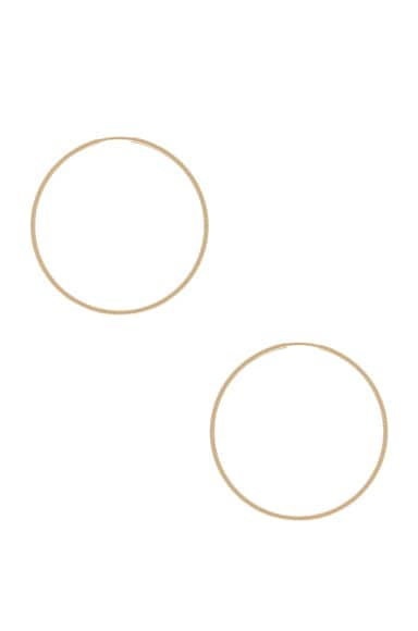 ERTH 14K Gold Hoop III Earring in Gold