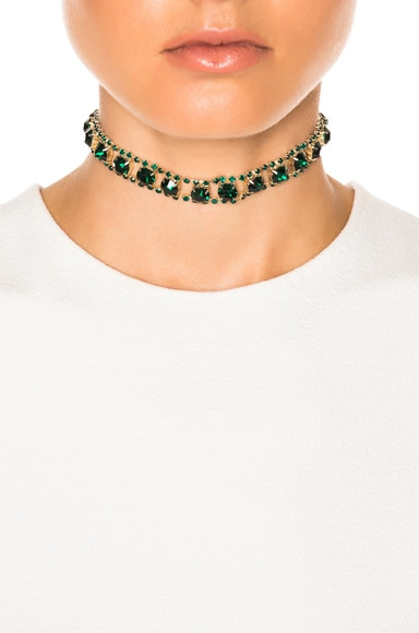 for FWRD Vintage Crystal Choker