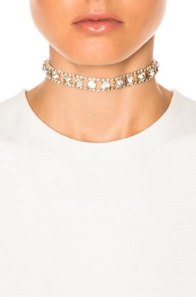 for FWRD Vintage Crystal Choker