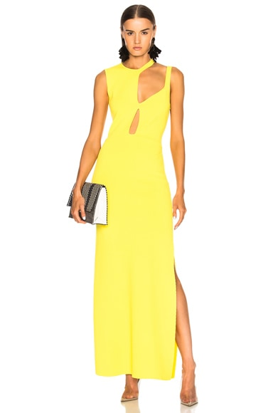 Knit Cut Out Gown