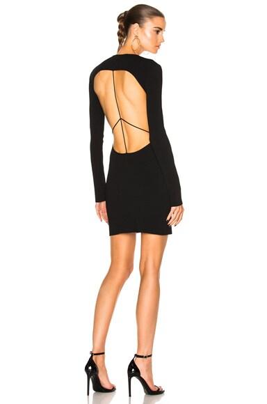 Capri Knit Open Back Dress