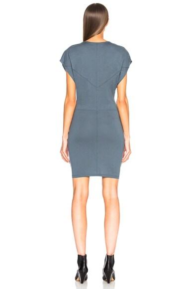 Roxane Draped Jersey Dress