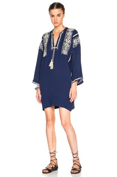 Vinny Ethnic Embroidery Dress