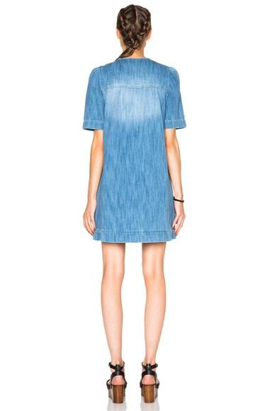 Oriane Fluffy Jean Dress