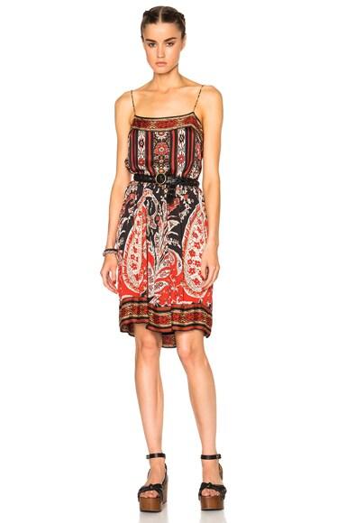 Trani Paisley Print Dress