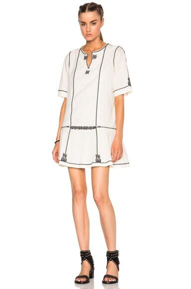 Isabel Marant Etoile Relly Ellie Items Dress in Ecru