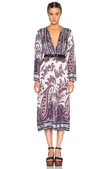 Tilda Paisley Print Dress