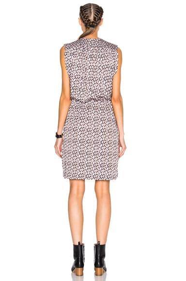 Hollis Pleated Print Dress