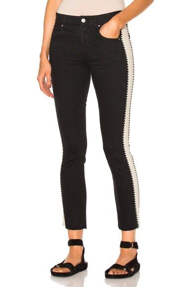 Isabel Marant Etoile Haven Jeans in Black