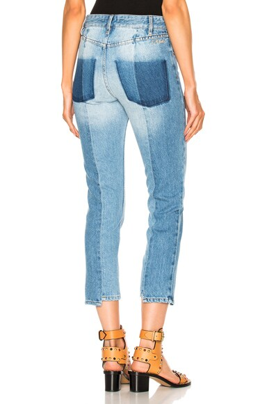 Isabel Marant Etoile Clancy Jeans in Light Blue