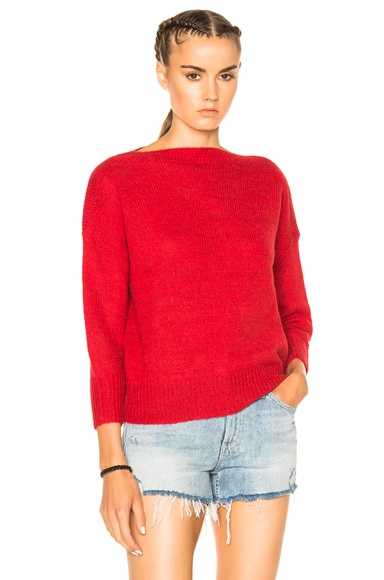 Grace Alpaca Knit Sweater