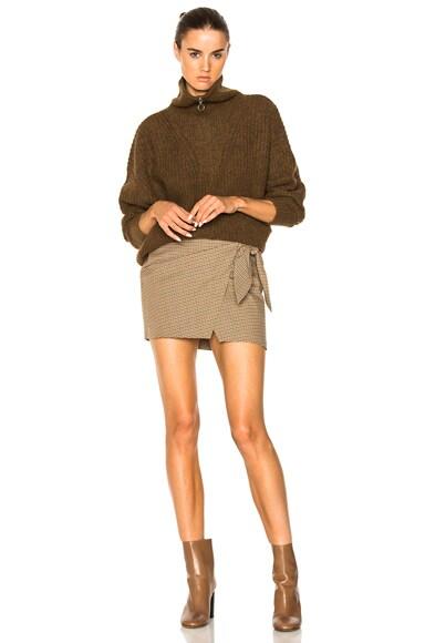 Declan Grunge Knit Turtleneck Sweater